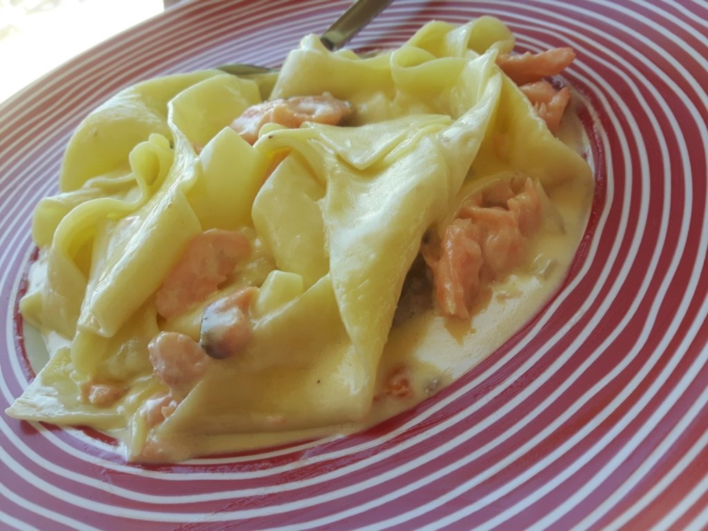 Papardelle Salmon